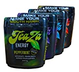Teaza Energy Pouch 4 Flavor Sampler - New Flip Top Container!