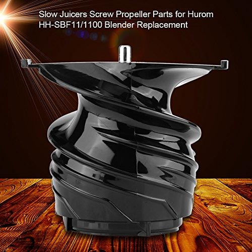 Juicer Blender Screw,Slow Juicers Blender Replacement Parts for Hurom HH-SBF11/1100 Blender by Aramox (Image #6)'