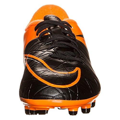 Nike Junior Hypervenom Phelon Ii Tc Fg - Nero / Nero-totale Arancione-totale Arancione - Tech Craft 3