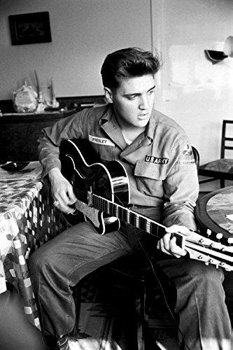 8 x 10 Photo Presley, Elvis Army Germany