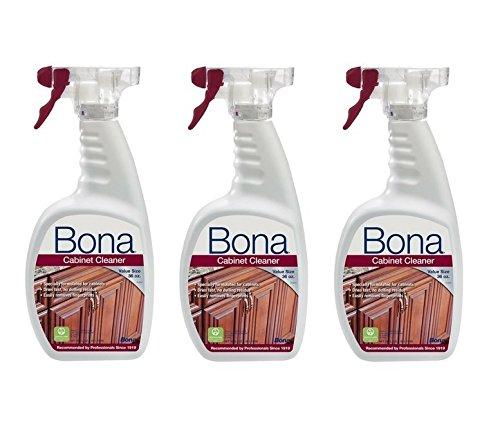 Bona Cabinet Cleaner, 36 oz (3 PACK)