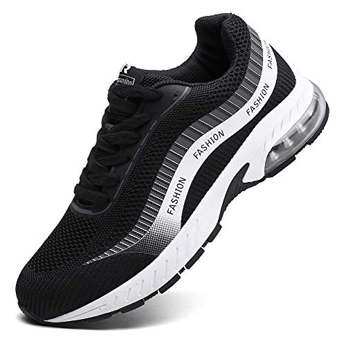 XIDISO Running Shoes Mens Air Trail Mesh Sneakers Athletic Walking Cross Training Tennis Sports Shoe for Men (Best Cross Training Sneakers)