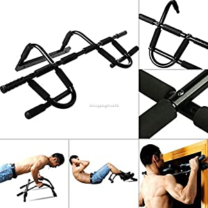 Horizontal Chin Up/Pull Up Bar Doorway Mounted Strength Training Muscle Build