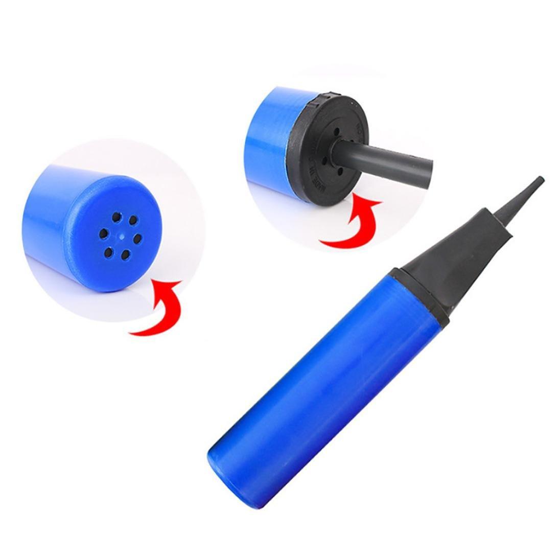 Dartphew Toys、Dartphew アウトドア ポータブル 手持ち プラスチック 空気入れ バルーン 空気ボール/バーム/水泳用ラフト/プール用 (カラーとスタイル: ランダム)   B07FF4S98P