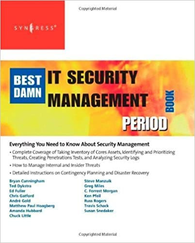 Syngress IT Security Project Management Handbook book download