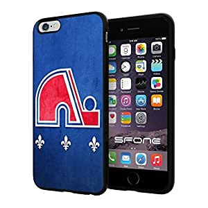 "Quebec Nordiques NHL, #1444 iPhone 6 Plus (5.5"") I6+ Case Protection Scratch Proof Soft Case Cover Protector by ruishername"