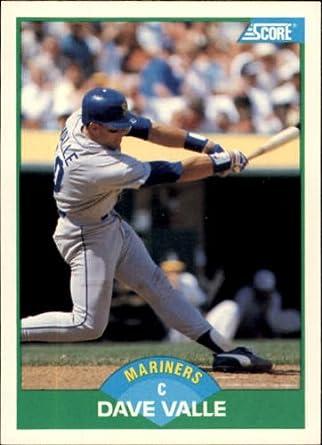 Amazoncom 1989 Score Baseball Card 27 Dave Valle Mint
