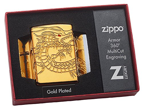 Dragon Armor Heavy Zippo Outdoor Indoor Windproof Lighter Free Custom Personalized Engraved Message Permanent Lifetime Engraving on Backside by Zippo (Image #7)