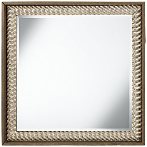 Ryer Silver Twist Square Mirror product image