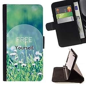Momo Phone Case / Flip Funda de Cuero Case Cover - Texte de motivation Summer - Samsung Galaxy J3 GSM-J300