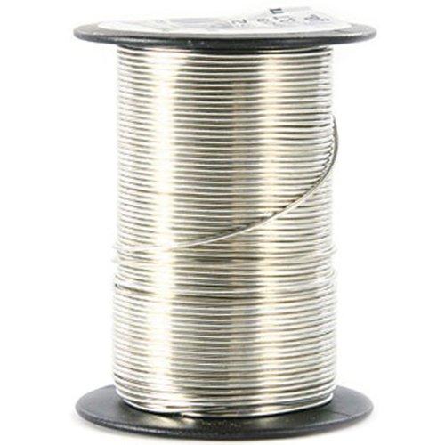 (Beadery 20GA-85218 20 Gauge Wire, 12-Yard, Silver)
