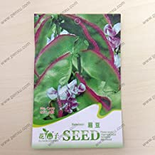 Original package vegetable Seeds,Browbean Hyacinth bean seeds,mature flowering 70 days, 6 particles seeds / bag