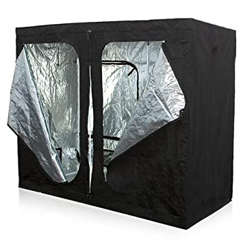 Best Choice Products Reflective Mylar 96u0026quot; X 48u0026quot; X 78u0026quot; Hydroponics Grow Tent  sc 1 st  Amazon.com & Amazon.com : Best Choice Products Reflective Mylar 96