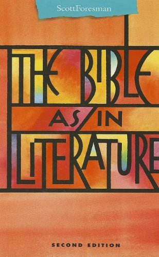 THE BIBLE AS/IN LITERATURE ANTHOLOGY (Points of Departure)