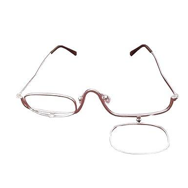 Meijunter Femmes Flip Up loupes de maquillage lunettes de lecture+1.00  +1.50 +2.00 +2.50 +3.00 +3.50 +4.00  Amazon.fr  Vêtements et accessoires ac3f83717046