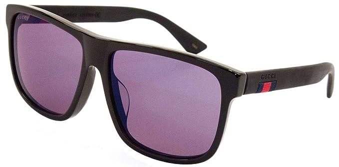 Gucci GG0010SA Gafas de Sol, Black, One size para Hombre ...