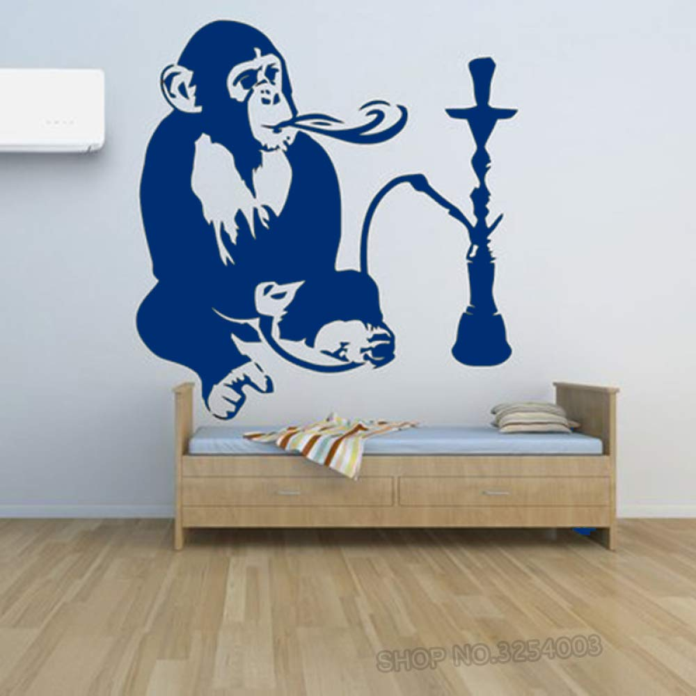 ShiSha Hookah Tatuajes de pared Smoke Window Shop Decoración Mono ...
