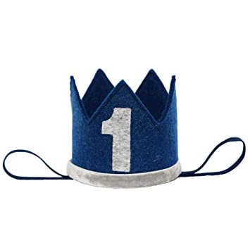 Amazon.com: Petsidea Pet First 1 2 Gorro de corona de ...