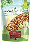 Organic Raw Pecan Pieces by Food to Live (Fresh Nuts, Bulk, Non-GMO, Kosher, Unsalted, Product of the USA, Best for Baking) — 1.5 Pounds