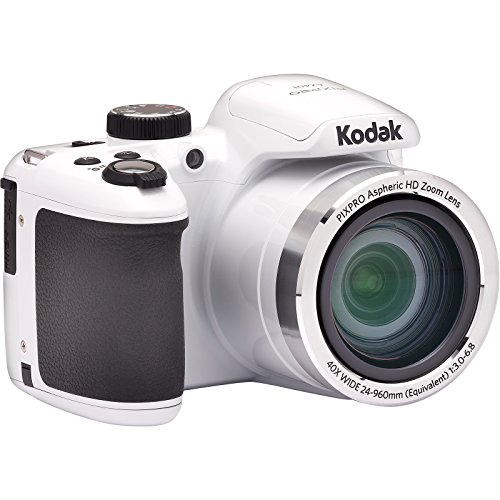 Kodak AZ401-WH- Cámara Digital PIXPRO de 16 MP, 3', Color Blanco