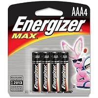Energizer E92BP-4 AAA Size Alkaline General Purpose Battery - Alkaline by Energizer