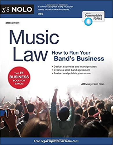 Book Music Law: How to Run Your Band's Business