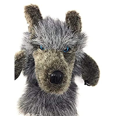 Folkmanis Big Bad Wolf Stage Puppet: Toys & Games