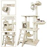 PET PALACE 62' Cat Tree Kitten Activity Tower Condo...