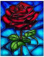 Sunnay Diamond - Set per dipingere con Rose, 30 x 40 cm, con Diamante da 5 D