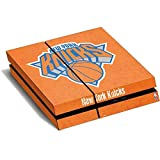 NBA New York Knicks PS4 Horizontal (Console Only) Skin - New York Knicks Orange Primary Logo Vinyl Decal Skin For Your PS4 Horizontal (Console Only)