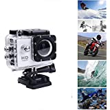 MOBONIC 1080P 4K Ultra HD, 16MP,2 inch LCD Display, HDMI Out, 170 Degree Wide Angle Compatible with All Smartphones Waterproof Sports Action Camera