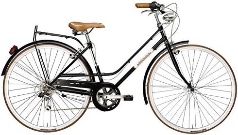 Adriatica - Bicicleta Clasica Mujer Retro Vintage Rondine Negro ...