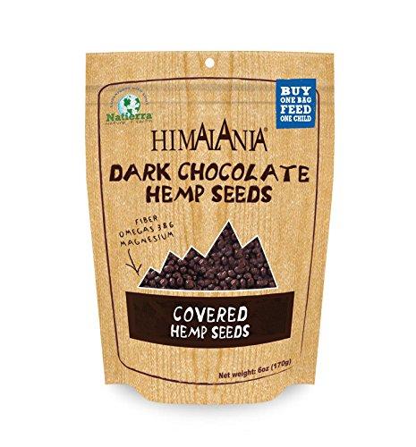 Chocolate Toasted Milk - Natierra Himalania Dark Chocolate Covered Hemp Seeds Shaker, 6 Oz