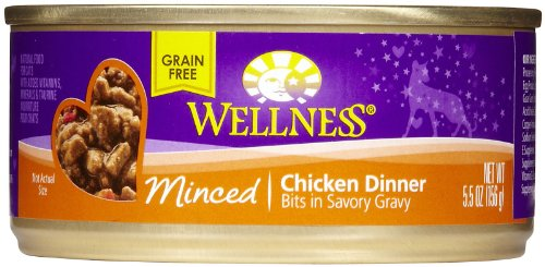 Wellness Minced Chicken Dinner - 24 x 5.5 oz