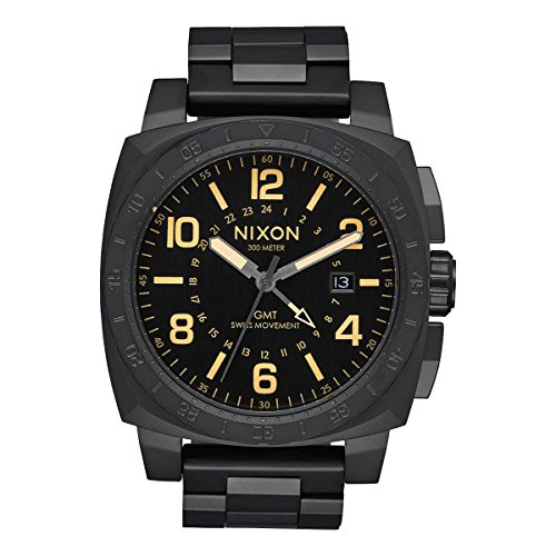 Nixon Charger GMT A1088-1256 Watch Design Highligh