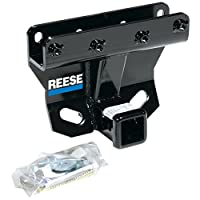 """Reese 44748 Class III-IV Custom-Fit Hitch with 2"""" Square Receiver opening, includes Hitch Plug Cover"""