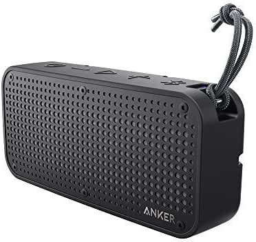 Anker SoundCore Sport XL Outdoor Portable Bluetooth Speaker - 16W Output and 2 Subwoofers, IP67 Waterproof & Dustproof, Shockproof, 66ft Bluetooth Range, 15H Playtime, Built-in Mic, USB Charging Port