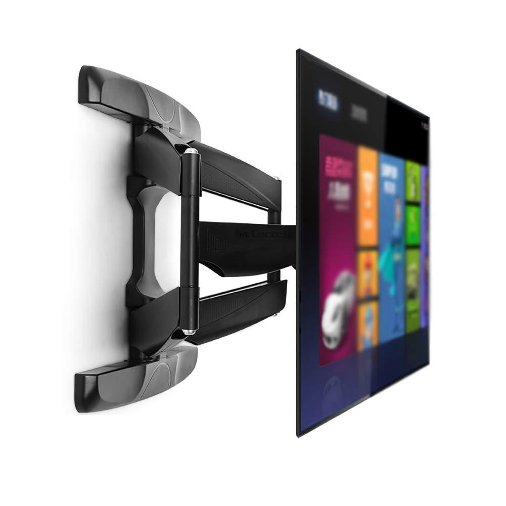 モニタースタンド ブラック 高さ調節可能 シングルモニター 壁マウント 37-60インチスクリーンに対応   B07GDJJYWD