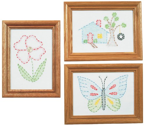 Jack Dempsey 488387  Stamped Embroidery Kit Beginner Sampler