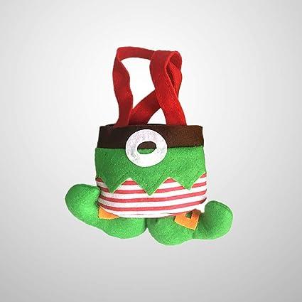 Amosfun Una bolsa de regalos,duendes,botas,galletas de ...