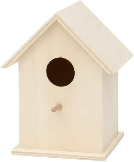 ARTE-DIRECTO Casas para pájaro, Nido para Pájaros; Casa de Madera para Pájaro; Casita Decoración de Jardín, Terraza
