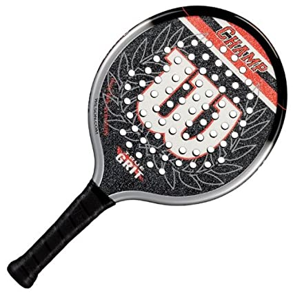 Amazon.com : Wilson Champ Platform Tennis Paddle - One Color ...