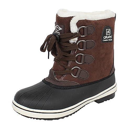 7b12d3e0367c0 best Koling Women's Winter Fur Ankle Snow Warm Boots ...