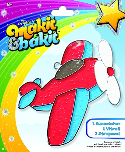 Colorbok Makit & Bakit Airplane Suncatcher - Family Suncatcher