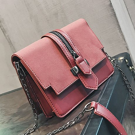 Bolso gules amp;QIUMEI OME Pequeño Hembra Bolso Gules Messenger Cadena Pequeña Bolsa Bolso xY7awUqY1