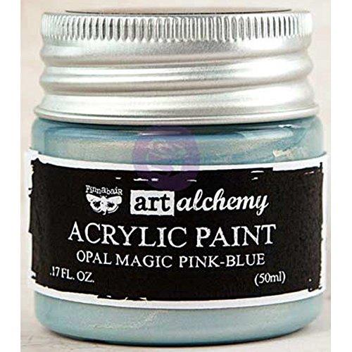 prima-marketing-963668-finnabair-art-alchemy-acrylic-paint-17-fl-oz-opal-magic-pink-blue