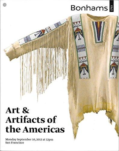 - Bonhams: Art and Artifacts of the Americas; San Francisco; September 10, 2012