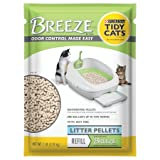 Tidy Cats Purina Breeze Cat Litter Pellets Refill for Multiple Cats (2 Pack, 7 lb)
