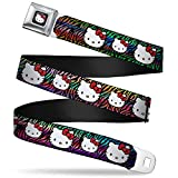 Best Buckle Down Little Girl Movies - Buckle-Down Seatbelt Belt - Hello Kitty Multi Faces/Zebra Review