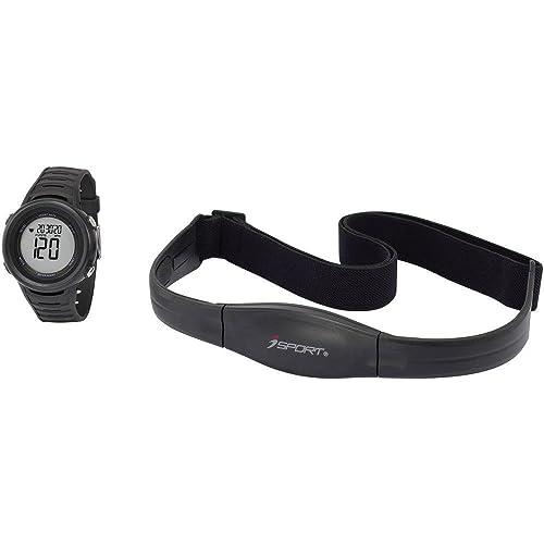 Montre cardio avec ceinture pectorale iSport W-210 Kit noir